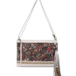 Sakroots Bags - Sakroots Artist Circle -Ruby Clutch Crossbody